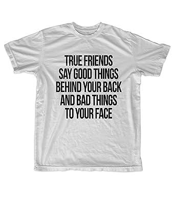 Amazon com: The Definition Of A True Friend Quote Men's T-Shirt Grey