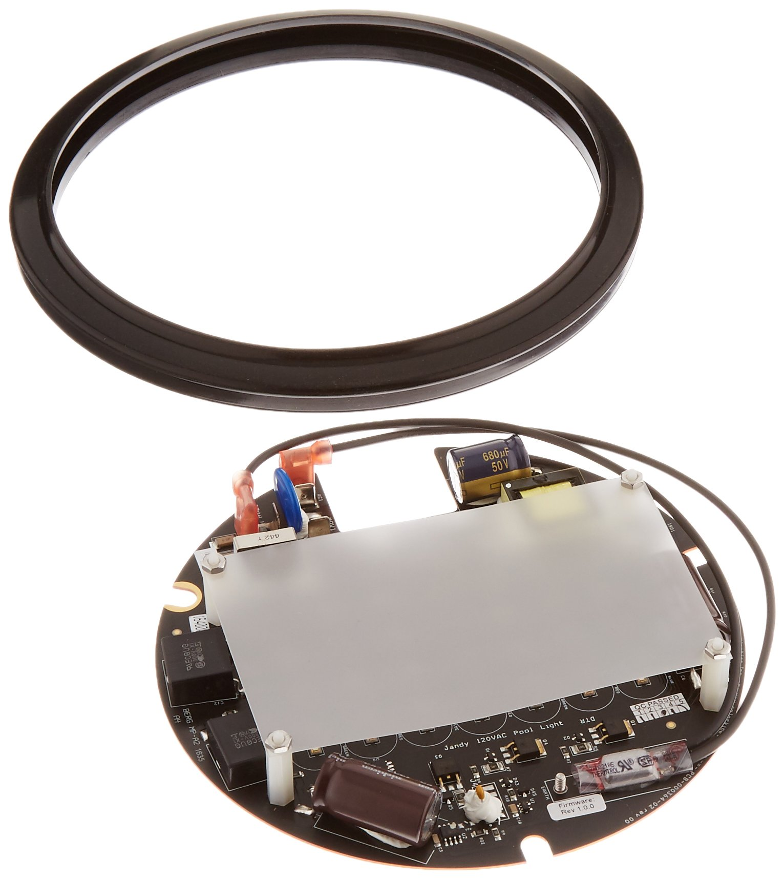 Zodiac R0474100 120-Volt Printed Circuit Board with Light Shaping Diverger Replacement for Select Zodiac Jandy WaterColors LED Large Light Engine by Zodiac