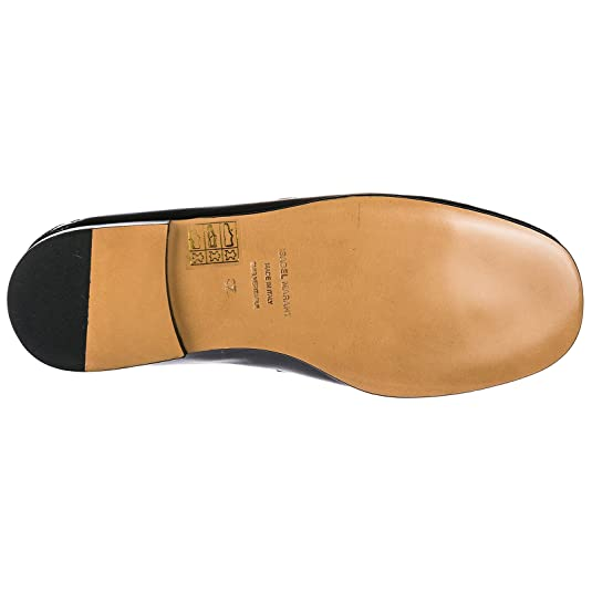 ISABEL MARANT Mocasines EN Piel Mujer Nuevo fezzy Negro EU 40 MC00380 18P007S: Amazon.es: Zapatos y complementos