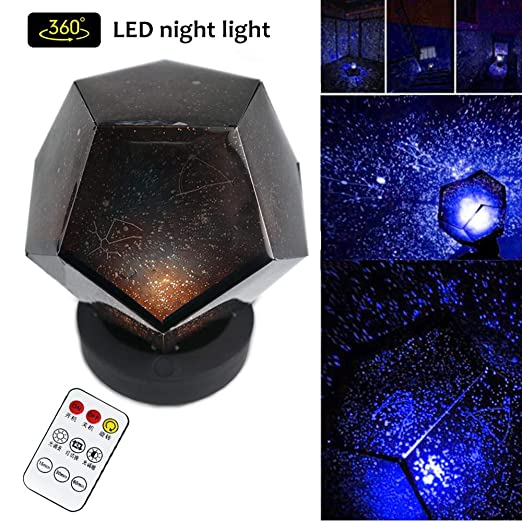 Volwco Luz de la Noche del bebé, lámpara de Estrella Proyector ...