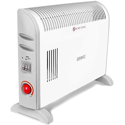 Duronic HV120 Calefactor Convector de aire / Función turbo / 3 niveles de potencia / Color
