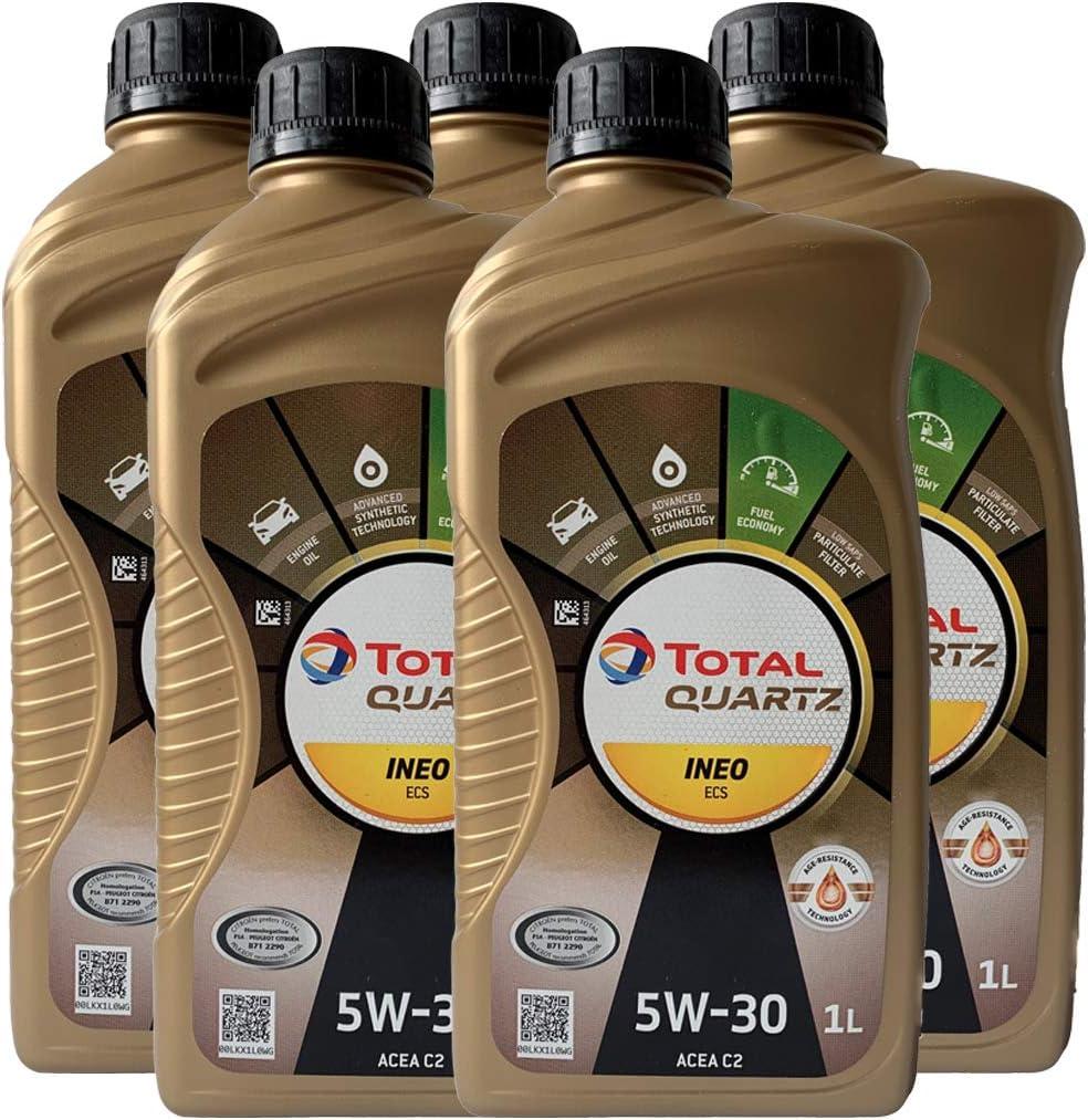Total Quartz Ineo Ecs 5 W30 5l Engine Oil 5 L Auto