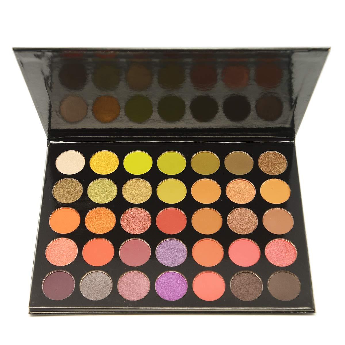 MAKEUP DEPOT The Black Book 35 color Eyeshadow