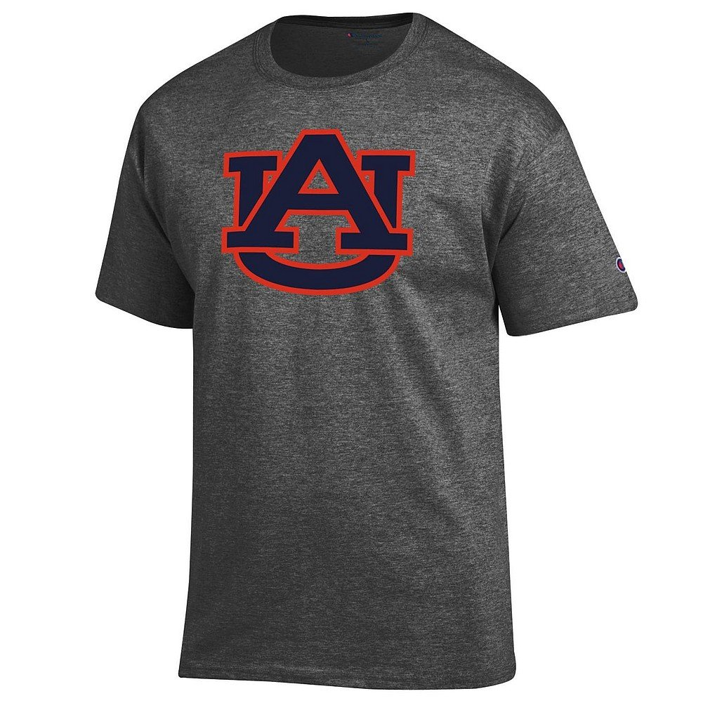 Elite Fan Shop Dark Heather Basic Short Sleeve College Icon T-Shirt