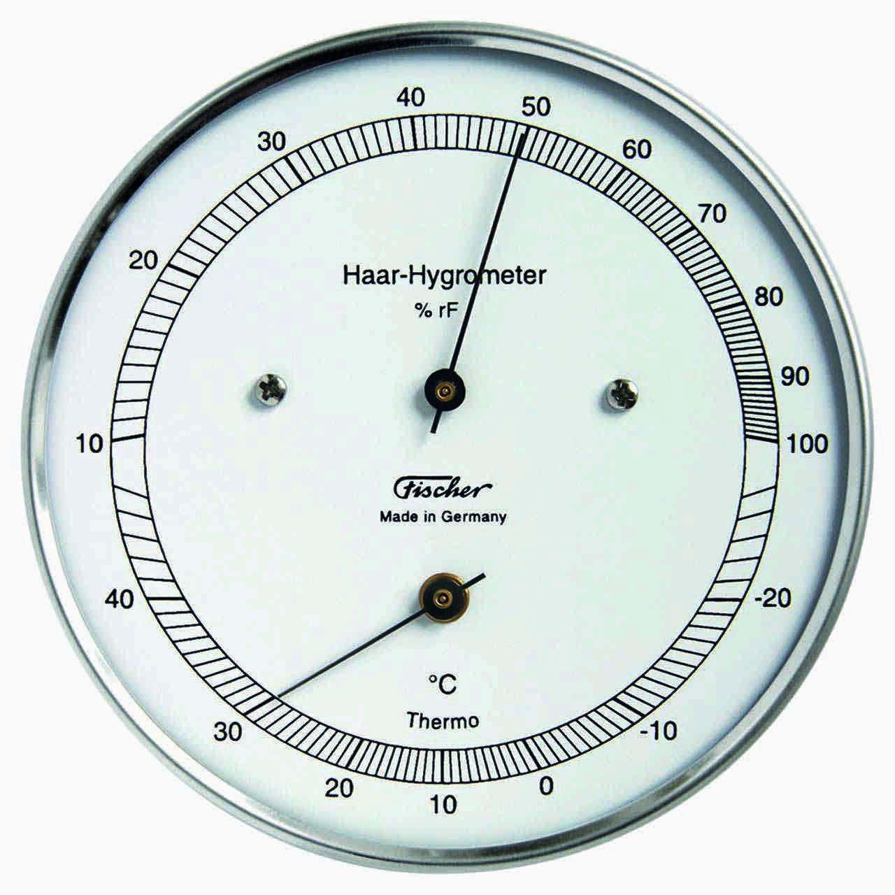 FISCHER igrometro a capello con termometro 111.01T 321379