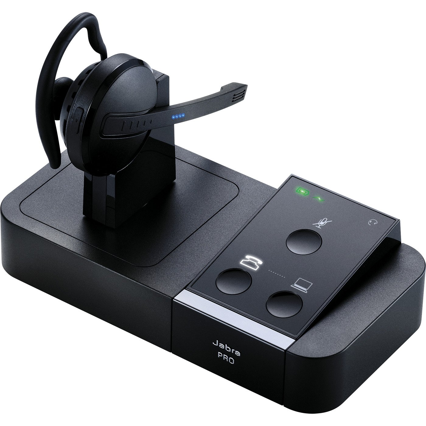 Jabra PRO 9450 Mono Midi-Boom Wireless Headset for Deskphone & Softphone