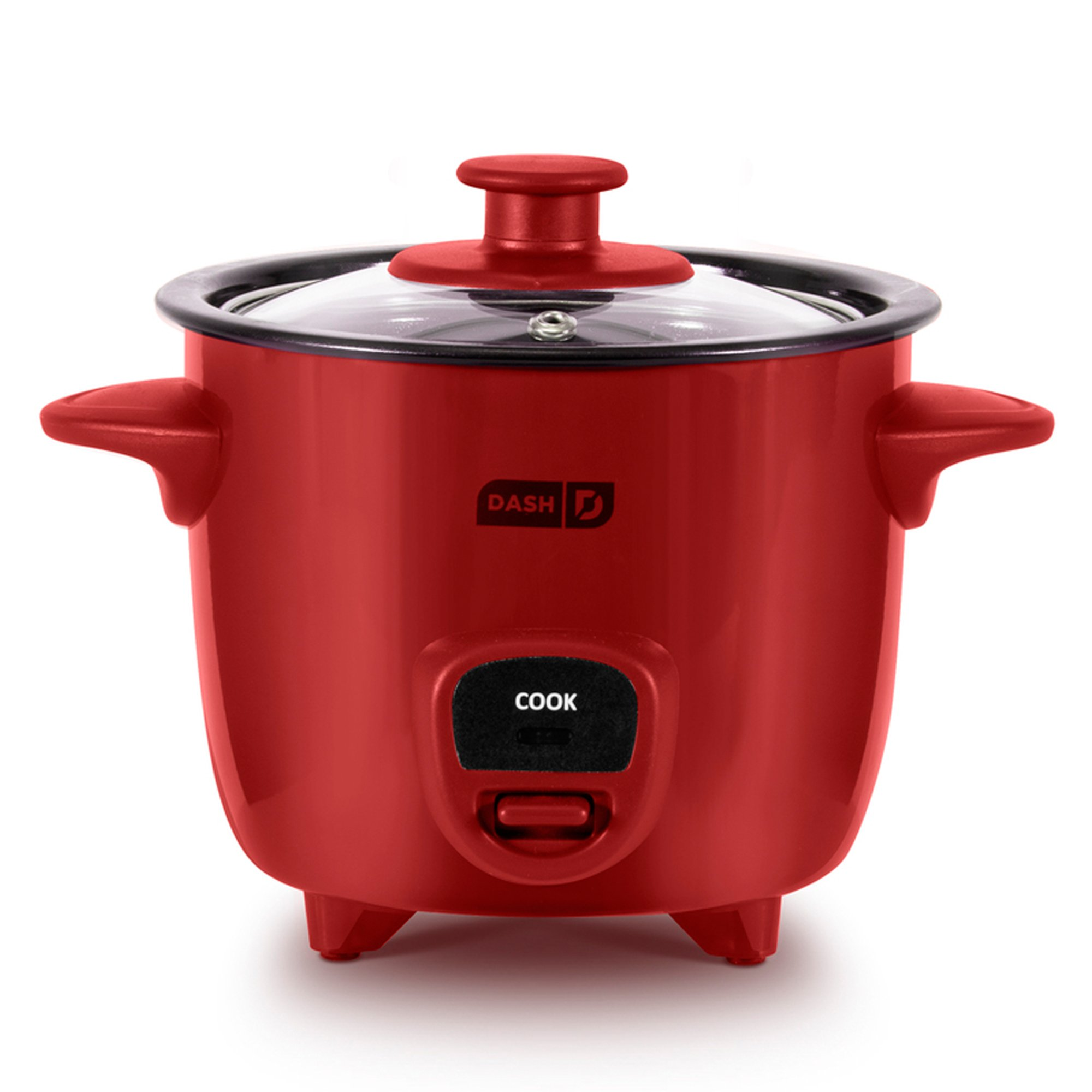 Dash DRCM100XXRD04 Rice Cooker, Red