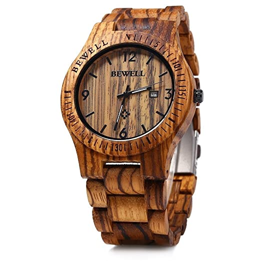 Cheap Bewell Wood Watch