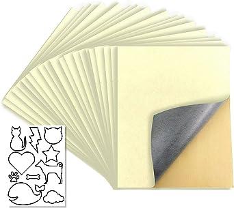 20 Pcs Self Adhesive Velvet Flocking Liner for Jewelry Drawer,Box Lining Beige White
