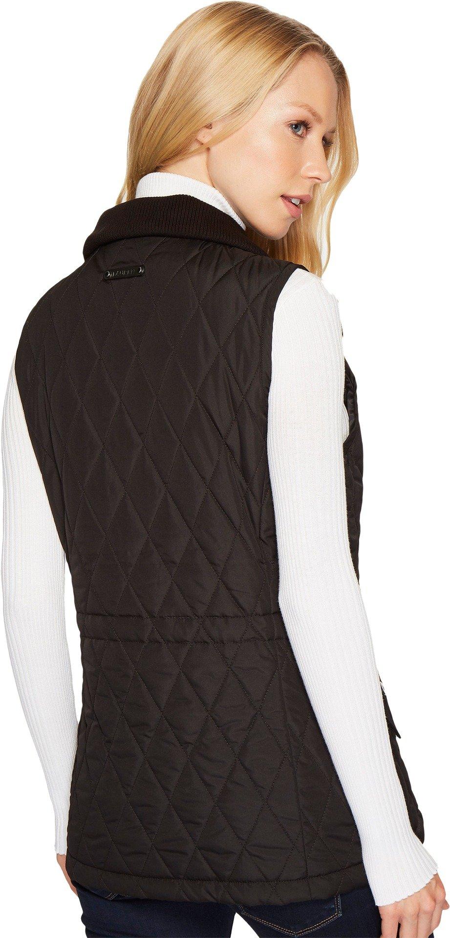 LAUREN Ralph Lauren Womens Vest w/ Wool Combo Black SM One Size by Lauren by Ralph Lauren (Image #3)