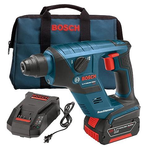 Amazon.com: Bosch rhs181 K 18-volt iones de litio 1/2-inch ...