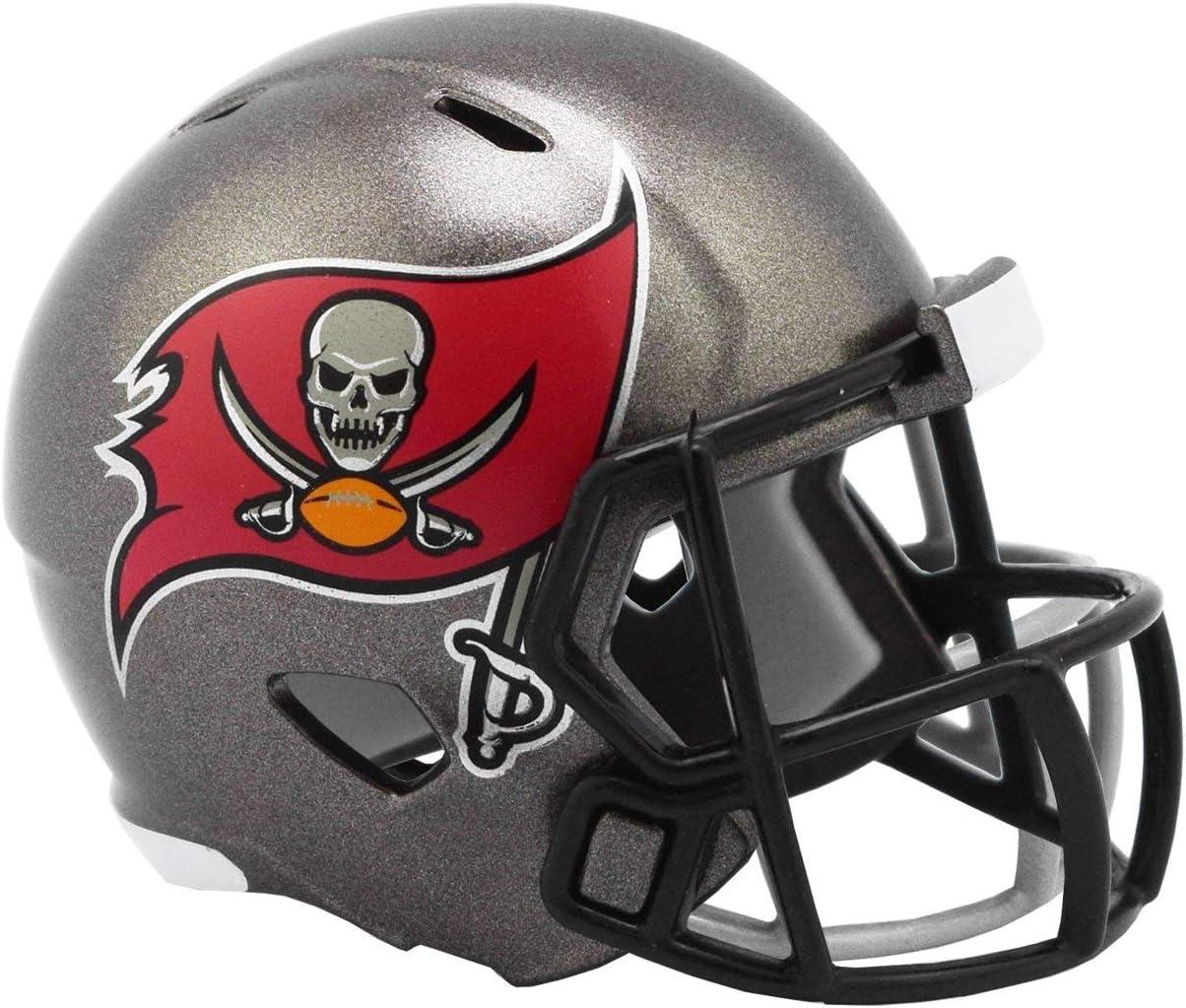 Riddell Tampa Bay Buccaneers 2020 NFL Revolution Speed Mini Pocket Pro Football Helmet