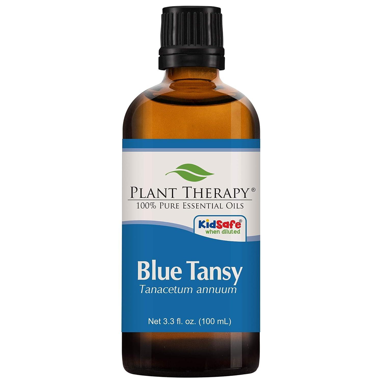 植物セラピーブルータンジーエッセンシャルオイル。 100%ピュア、希釈していない、治療グレード。 100ミリリットル(3.3オンス)。 B00P2S6K9A