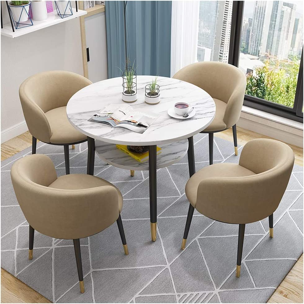 Amazon.com - European Modern Tables and Chairs Double Layer Table