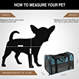 Akinerri Airline Approved Pet Carriers,Soft Sided
