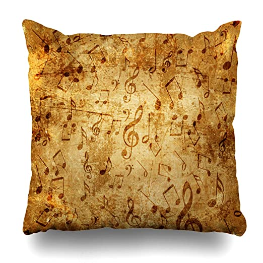 Ahawoso funda de almohada amarilla con diseño vintage de ...