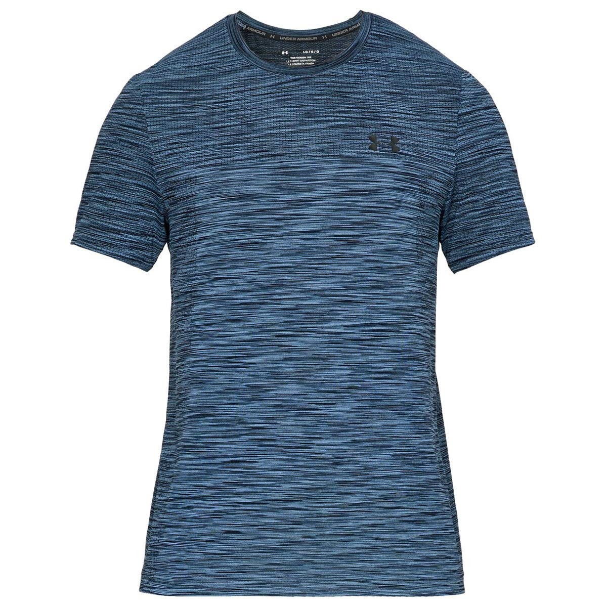 Under Armour Herren Vanish Seamless SS Kurzarmshirt, Blau, XL