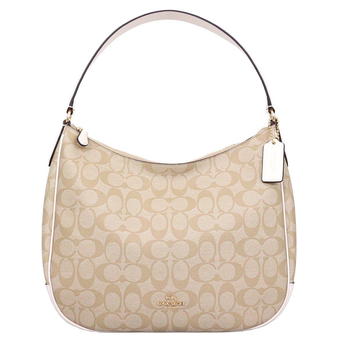 COACH ZIP SHOULDER BAG IN SIGNATURE CANVAS F29209 IMDQC  Handbags  Amazon. com 9fd6ed719ed9a