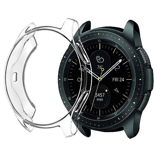 Amazon.com: for Samsung Galaxy 42mm 46mm TPU Soft Protective ...