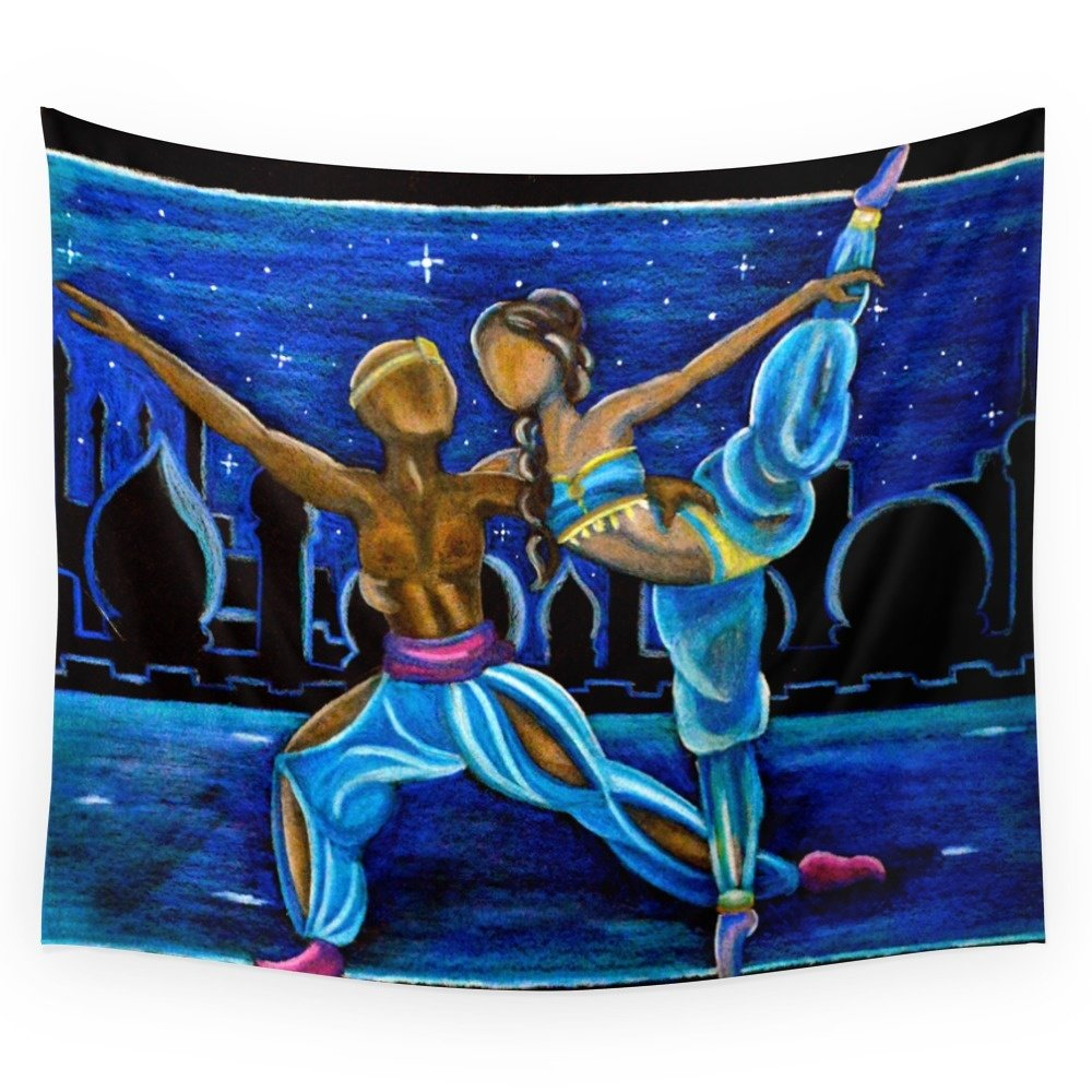 Society6 Arabian Dance Wall Tapestry Medium: 68'' x 80''