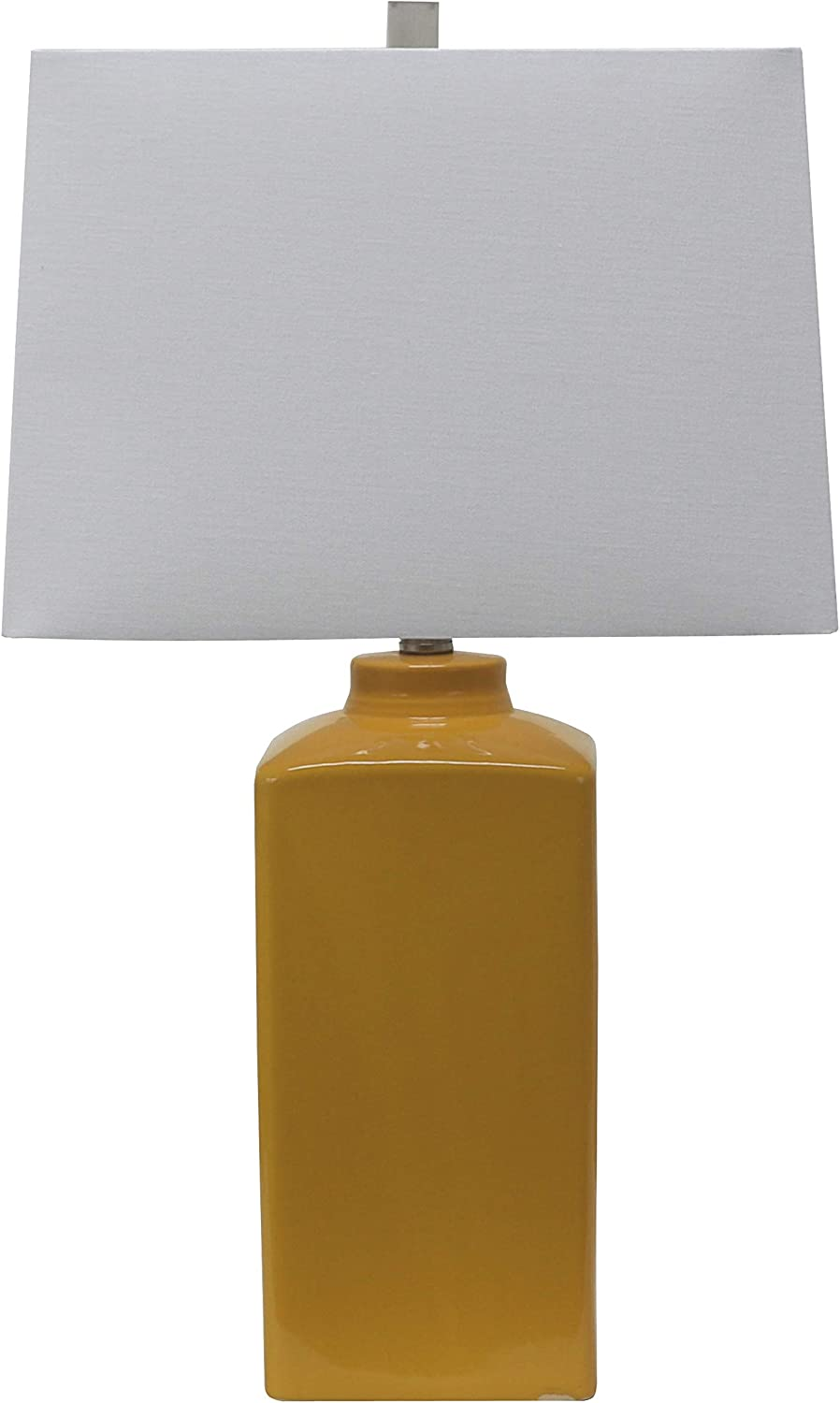 Decor Therapy TL17299 Table Lamp, Mustard Yellow