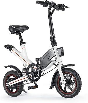 Chicstyleme Bicicletas Electricas Plegables Ligeras Bicicleta ...