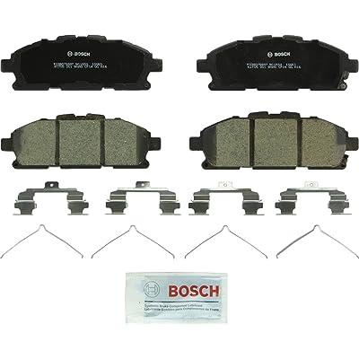 Bosch BC1552 QuietCast Premium Ceramic Disc Brake Pad Set For 2011-2020 Nissan Quest; Front: Automotive