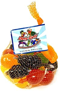 Dely-Gely Fruit Jelly - Gelatina De Frutas 25 Pieces (1 Pack)