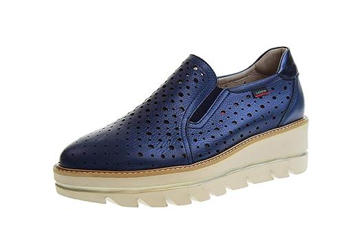 CALLAGHAN Mocasines de Zapatos de Mujer con cuña Azul 14804: Amazon.es: Zapatos y complementos