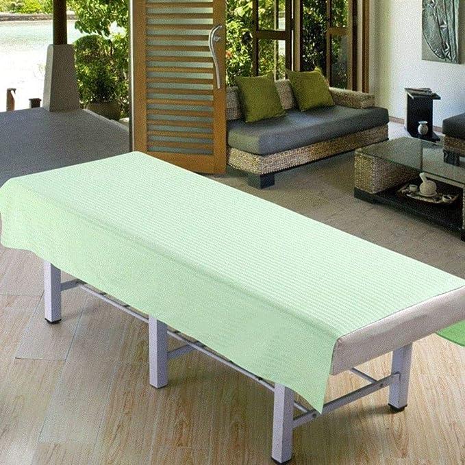 serviette de massage sans trou pour le visage Table de lit de massage pour salon de beaut/é