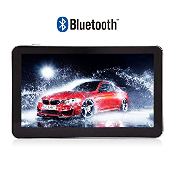 Noza Tec 7 Inch coches Sat Nav con Bluetooth GPS navegación Navigator UK UE Sat mapa actualizaciones de mapas de por vida: Amazon.es: Electrónica