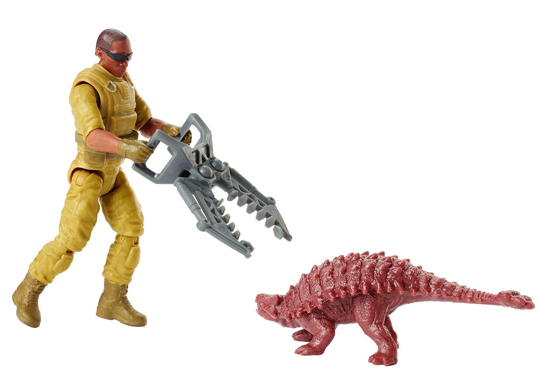 Jurassic World Mercenary Claw Capture Figure Mattel FMM05