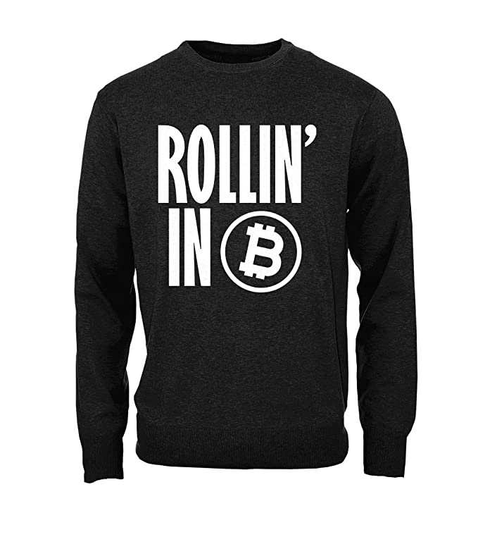 Comprar sudadera Rollin'In Bitcoin