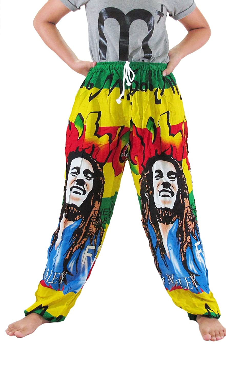 """HIT HOT"" REGGAE HIPPIE (COTTON RAYON) Pants Pregnancy Yoga Massage Beach Summer"