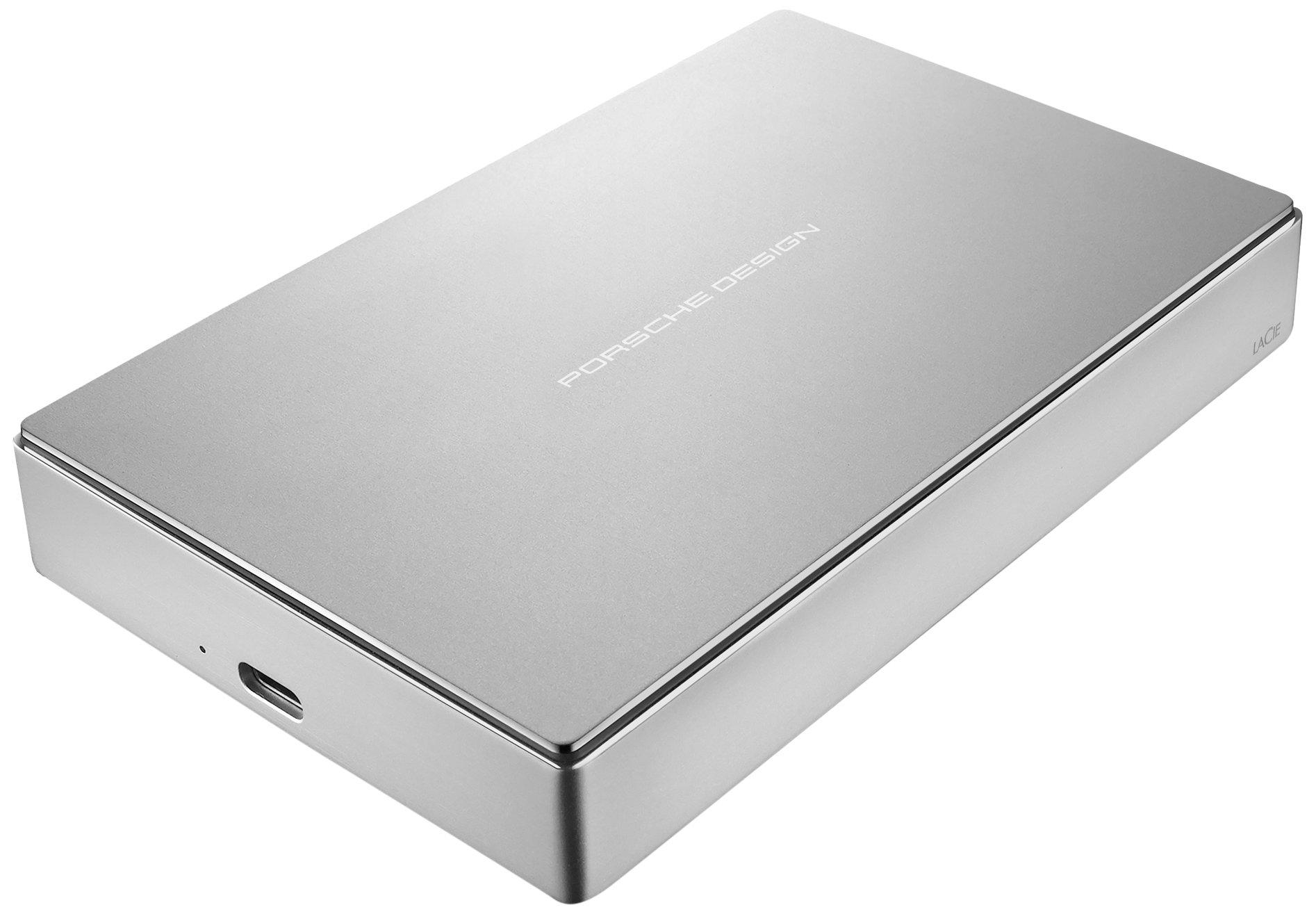 LaCie Porsche Design 4TB USB-C Desktop Hard Drive STFE4000401