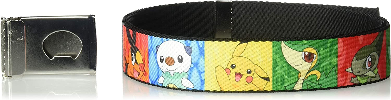 Buckle-Down Web Belt Pokemon 1.25