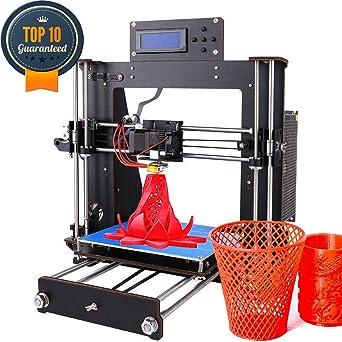 Impresora 3D, CTC actualizada Prusa I3, pantalla LCD DIY, kit de ...