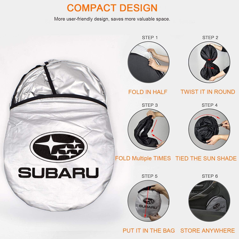 JYMAOYI for Subaru Sunshade for GTR Windshield Visor Cover Car Window Sun Shade UV Protect Car Window Film for Most Subaru BR-Z Shifter