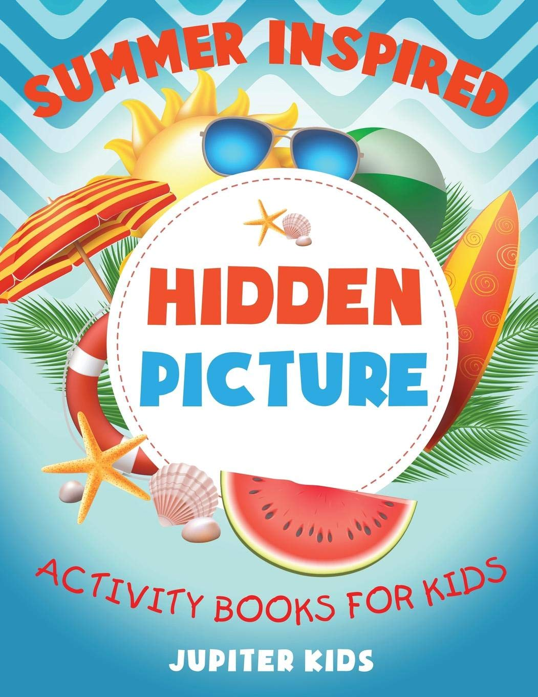 Buy Summer Inspired Hidden Picture Activity Books For Kids Book