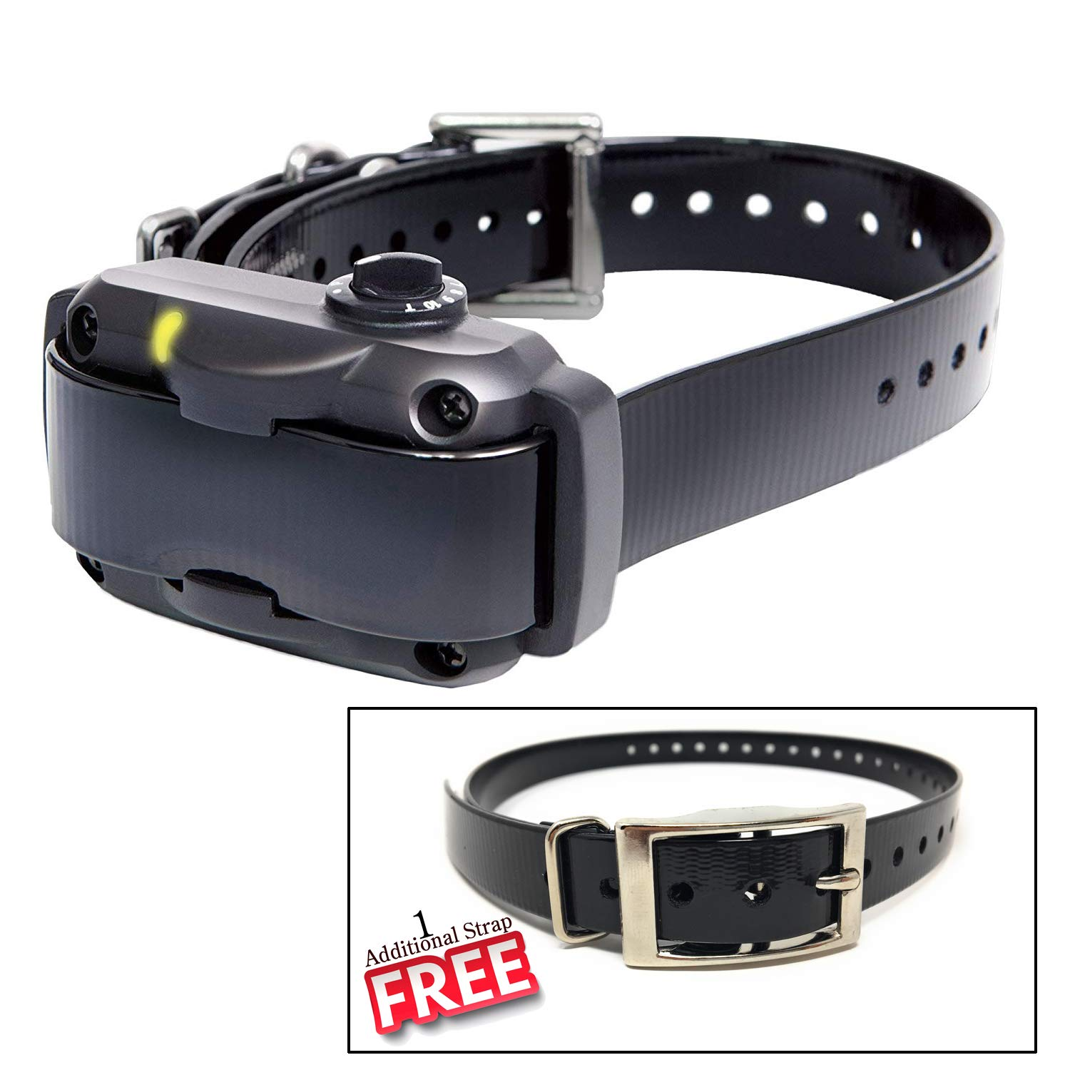 Dogtra YS600 Rechargeable 10 Level Adjustable No Bark Collar for Dogs 35+ Lbs with Extra Free Strap by Dogtra (Image #1)