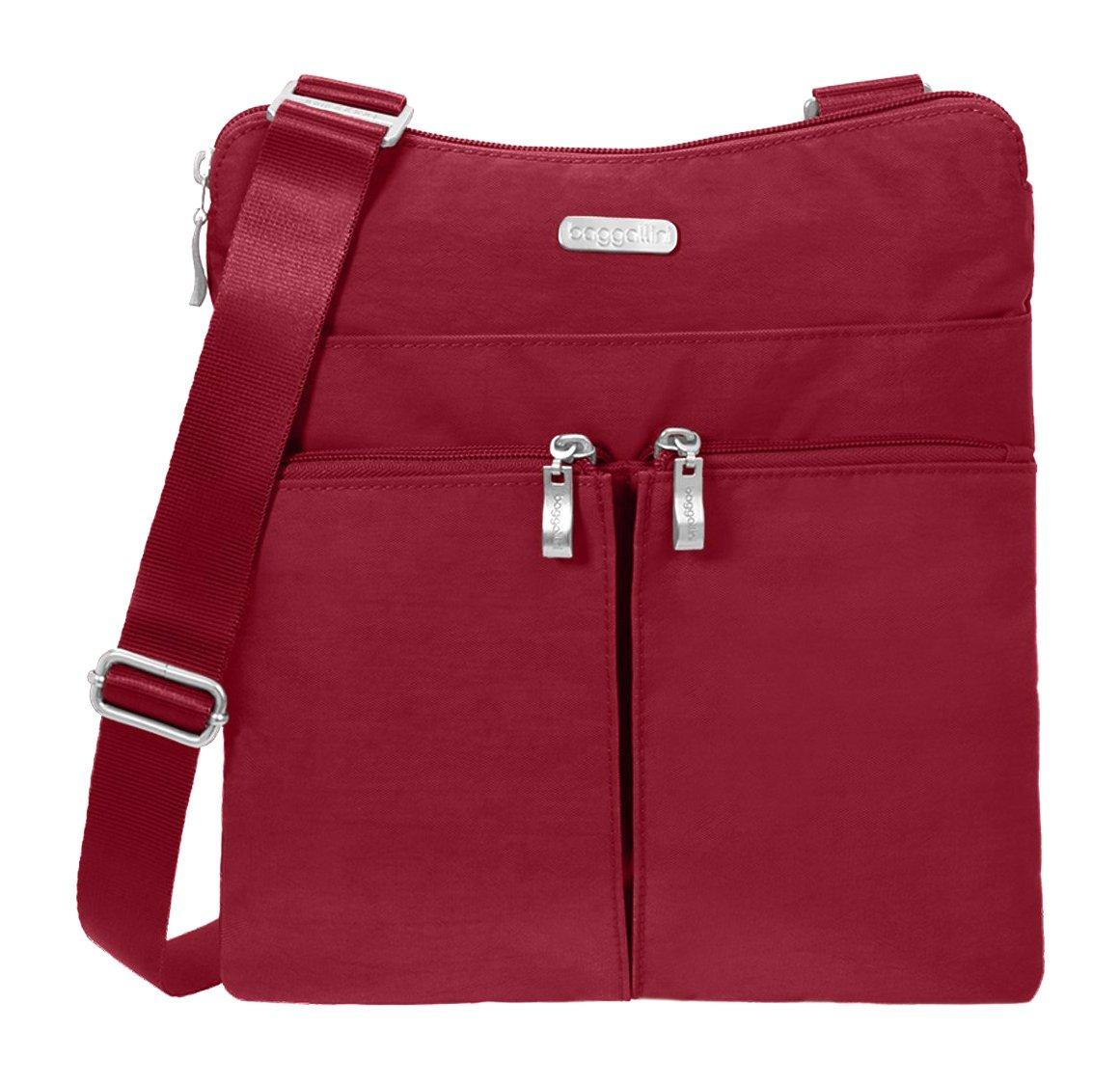 Baggallini Horizon Crossbody Travel Bag Apple One Size HRZ649-B0614