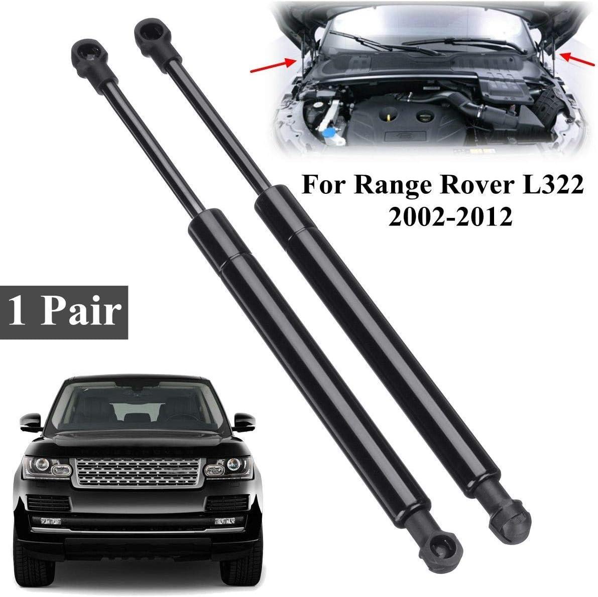 Fit for Range Rover L322 2002 2003 2004 2005 2006 2007 2008 2009 bis 2012 JINBINB 2ST Auto-Front Motorhaube Unterst/ützung Gas Struts Deckel BKK760010