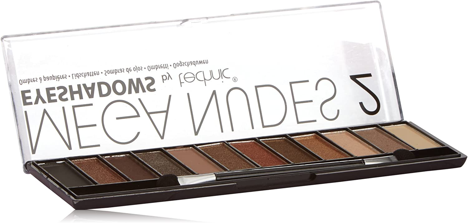 Technic Mega Nudes 2 12 Colour Eyeshadow Palette by Technic