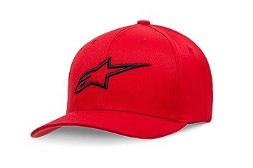 Alpinestar Ageless Curve Hat - Gorra Flexfit Visera Curva Logo Bordado 3D Hombre: Amazon.es: Deportes y aire libre