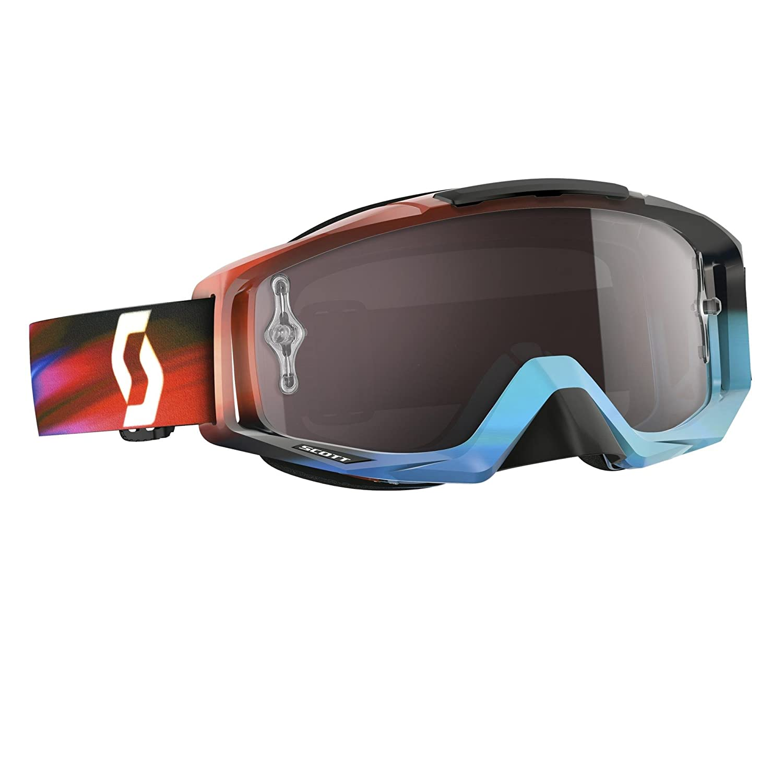 7966ce98d10 Amazon.com  Scott Sports Tyrant Speed Goggles - Blue Red Silver Chrome -  One Size  Automotive