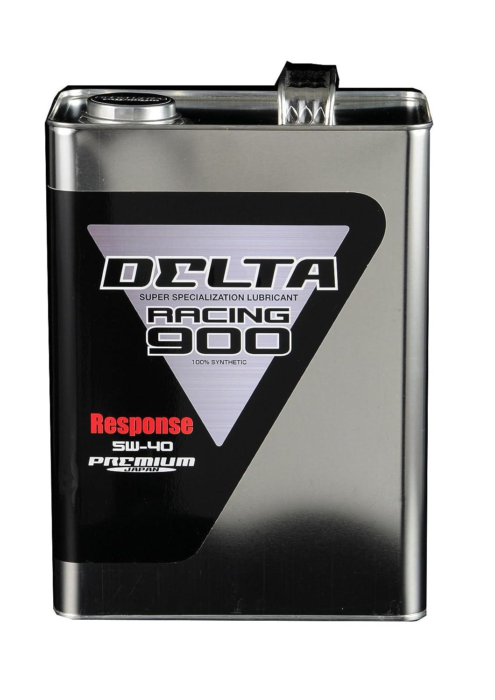 PREMIUM JAPAN(プレミアムジャパン) DELTA Racing(デルタレーシング) 900 Response(レスポンス) 5W-40 4L  PJ-OIL-00013 B01LNH7QAU   4L