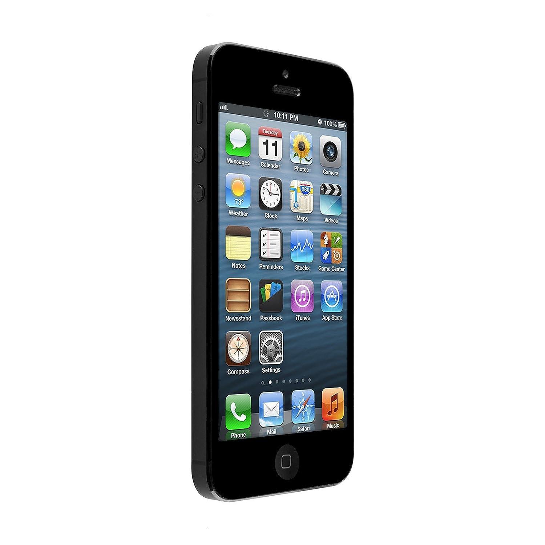 Amazon.com: Apple iPhone 5, GSM Unlocked, 16GB - Black (Refurbished ...