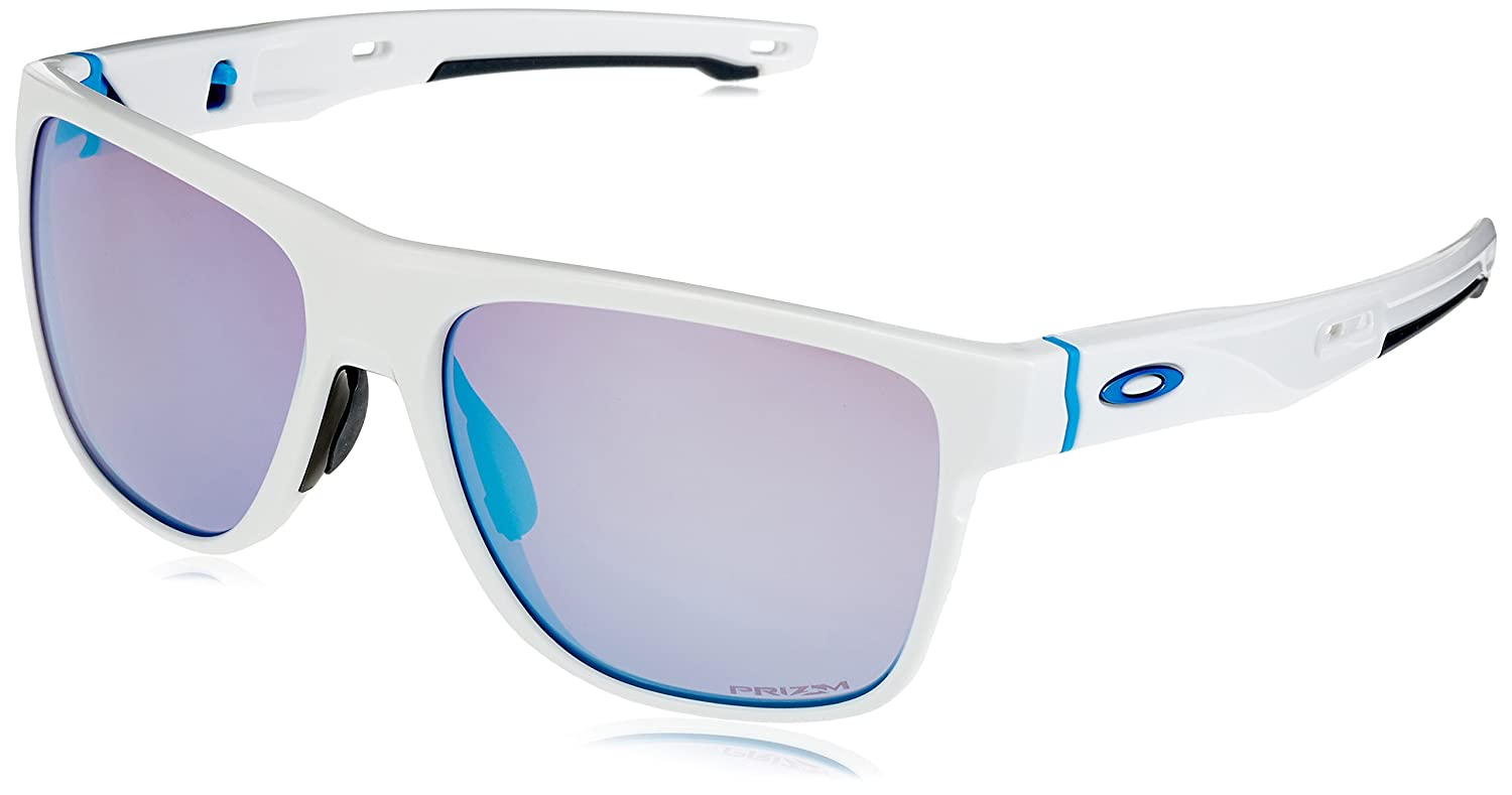 Oakley Crossrange Xl Gafas de Sol para Hombre Polished White