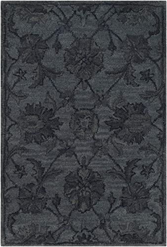 Safavieh Antiquities Collection AT824B Handmade Traditional Oriental Grey and Multi Wool Area Rug 2' x 3'