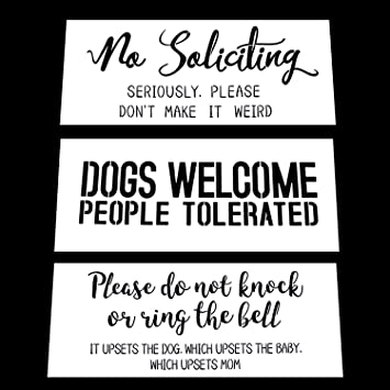 Welcome Dog Sign Stencil Create DIY Welcome Dog Sign Home Decor Reusable Stencils for Painting